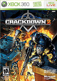 CRACKDOWN-2-NEW-FACTORY-SEALED-XBOX-360