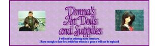 Donna's Art Dolls and Supplies