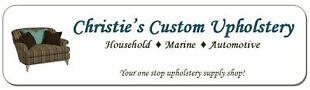 Christie's Custom Upholstery