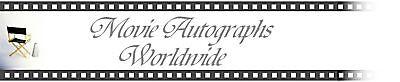 Movie Autographs Worldwide