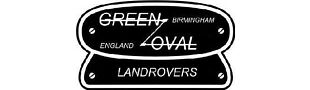 Green Oval Landrover
