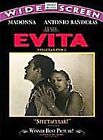 Evita (DVD, 1998, Widescreen Spanish) (DVD, 1998)