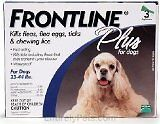 Merial Frontline PLUS Blue For Dogs 23 -...