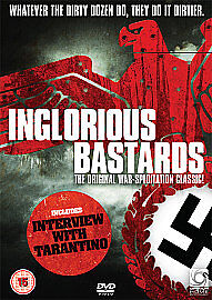Inglorious Bastards (DVD) SIGNED BY DIRECTOR ENZO G. CASTELLARI