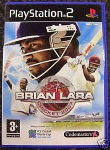 Brian Lara International Cricket 2007 (PS2) VideoGames Used