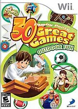 Family Party: 30 Great Games Outdoor Fun (Nintendo Wii, 2009) NEW