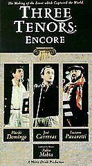 Three Tenors - Encore (VHS, 1992)