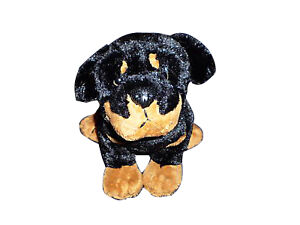WEBKINZ Rottweiler Dog HM183 NEW with attached unused code FREE Shipping!!