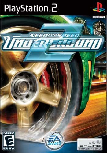 NEED FOR SPEED UNDERGROUND 2 PS2 Sony PlayStation 2 Racing Video Game UK Release