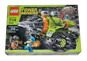NEW Lego Power Miners 8960 Thunder Driller SEALED
