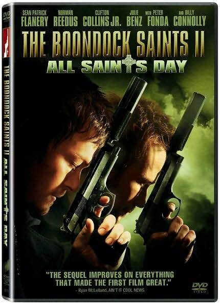 The Boondock Saints II: All Saints Day (DVD, 2010) Brand New Billy Connolly