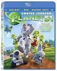 Planet 51 (Blu-ray/DVD, 2010, 2-Disc Set, Includes Digital Copy)