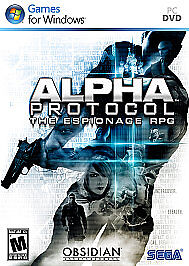 Alpha Protocol -The Espionage RPG (Windows  PC) Factory Sealed.Free Shipping.