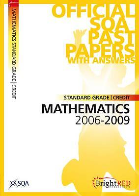 """AS NEW"" Scottish Qualifications Authority, Maths Credit (Standard Grade) SQA Pa"