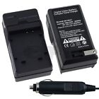 Compact Battery Charger Set for Olympus Li-50B 1030 SW