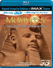 Mummies: Secrets of the Pharaohs (Blu-ray Disc, 2011, 3D)