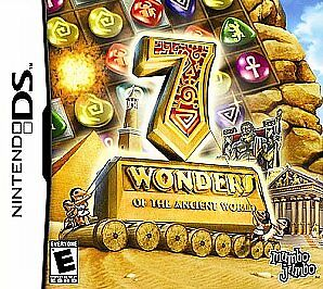 7 Wonders of the Ancient World (Nintendo DS, 2007) CART ONLY