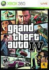 Grand Theft Auto IV (Microsoft Xbox 360, 2008) - European Version