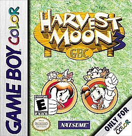 HARVEST MOON 3 GAME BOY COLOR GBC COSMETIC WEAR