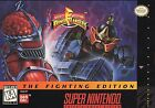 Mighty Morphin Power Rangers -- The Fighting Edition (Super Nintendo Entertainment System, 1995)