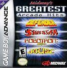 Midway's Greatest Arcade Hits (Nintendo Game Boy Advance, 2001) - European Version