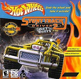 Hot-Wheels-Stunt-Track-Driver-2-Getn-Dirty-PC-2000-2000