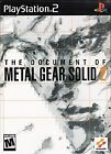 Document of Metal Gear Solid 2 (Sony PlayStation 2, 2002) - Japanese Version