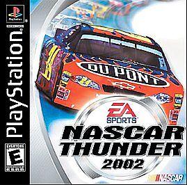 NASCAR-Thunder-2002-Sony-PlayStation-1-2001-Video-Game