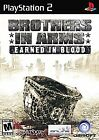 Brothers in Arms: Earned in Blood  (Sony PlayStation 2, 2005) (2005)