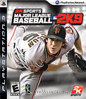 Major League Baseball 2K9  (Sony Playstation 3, 2009) (2009)