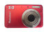 Camera: HP PhotoSmart R742 7.2 MP Digital Camera - Ruby red