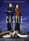 Castle: The Complete First Season (DVD, 2009, 3-Disc Set) (DVD, 2009)