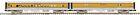 MTH 20-69150 O Scale D&RGW 2-Car 70' Baggage/Coach Set (Smooth) Model Train