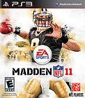 Madden NFL 11 (Sony PlayStation 3, 2010)