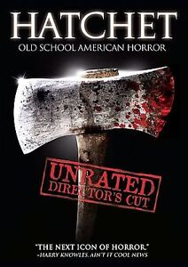 Hatchet (DVD, 2007, Unrated Director's C...
