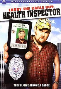 Larry the Cable Guy  Health Inspector DVD FREE SHIPPING - San Diego, California, United States - Larry the Cable Guy  Health Inspector DVD FREE SHIPPING - San Diego, California, United States