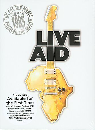 Live Aid (DVD, 2004, 4-Disc Set)