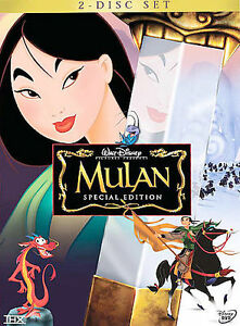 Mulan-DVD-2-Disc-Set-Special-Edition-New-amp-Sealed-comes-with-Slipcover-Free-Ship