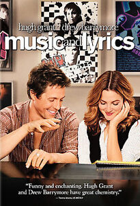 Music and Lyrics (DVD, 2007, Full-Screen Edition) NEW