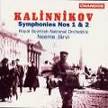 Symphony No. 1 in G minor/No. 2 in A major - Neeme Järvi, SNO