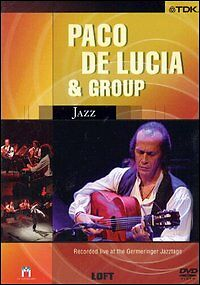 Paco De Lucia & Group (2004) DVD Nuovo Recorded Live at the Germeringer Jazztage