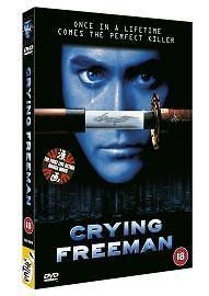 Crying Freeman DVD 2003 - <span itemprop='availableAtOrFrom'>London, United Kingdom</span> - Crying Freeman DVD 2003 - London, United Kingdom