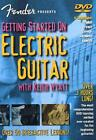 Fender Presents: Getting Started On Electric Guitar (DVD, 2002)