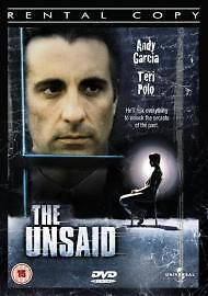 The Unsaid [DVD], Acceptable DVD, ,