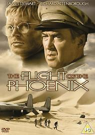 The-Flight-Of-The-Phoenix-DVD-1965-Acceptable-DVD-James-Stewart-Richard-A