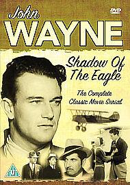 John Wayne - The Shadow Of The Eagle - DVD - BRAND NEW SEALED