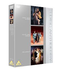West Side Story/Guys and Dolls/De-Lovely  DVD Natalie Wood, Marlon Brando, Frank