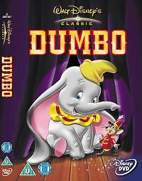 Walt Disney Classics  Dumbo  Genuine UK Region 2 DVD - <span itemprop='availableAtOrFrom'>Lincolnshire, United Kingdom</span> - Walt Disney Classics  Dumbo  Genuine UK Region 2 DVD - Lincolnshire, United Kingdom