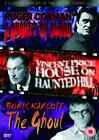 3 Classic Horrors Of The Silver Screen - Vol. 2 - A Bucket Of Blood / House On Haunted Hill / The Ghoul (DVD, 2004)