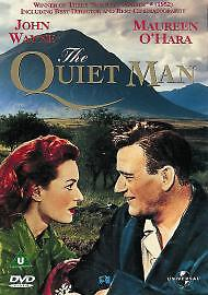 The Quiet Man DVD 1952 Very Good DVD John Wayne Maureen O039Hara Barry Fit - Rossendale, United Kingdom - Your satisfaction is very important to us. Please contact us via the methods available within eBay regarding any problems before leaving negative feedback. Any defects, damages, or material differences with your item, must be  - Rossendale, United Kingdom